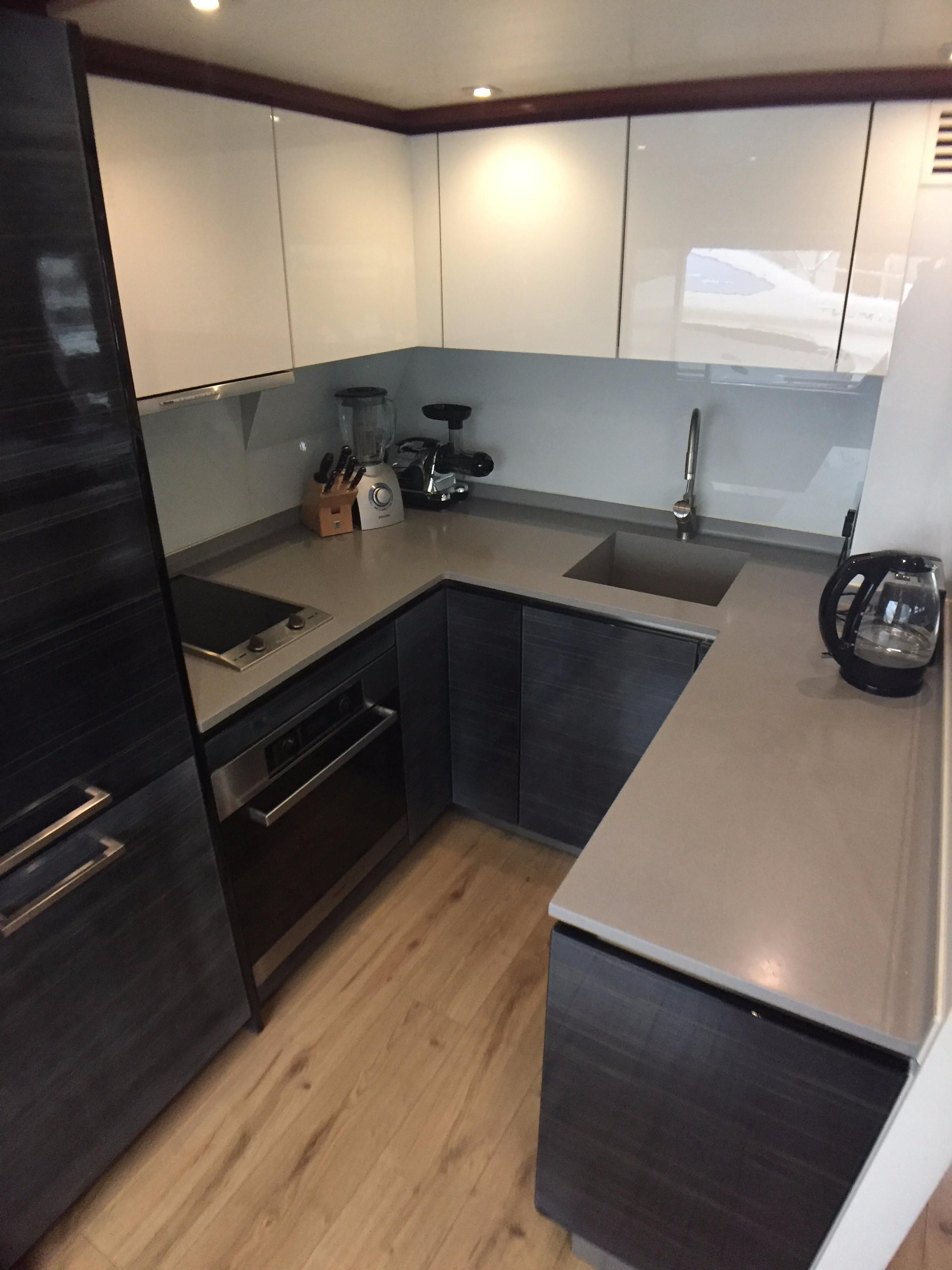 Galley w/ Miele Appliances