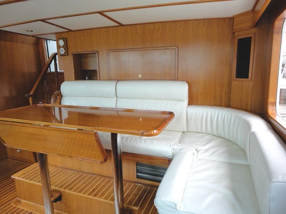 Pilothouse Seating and Table