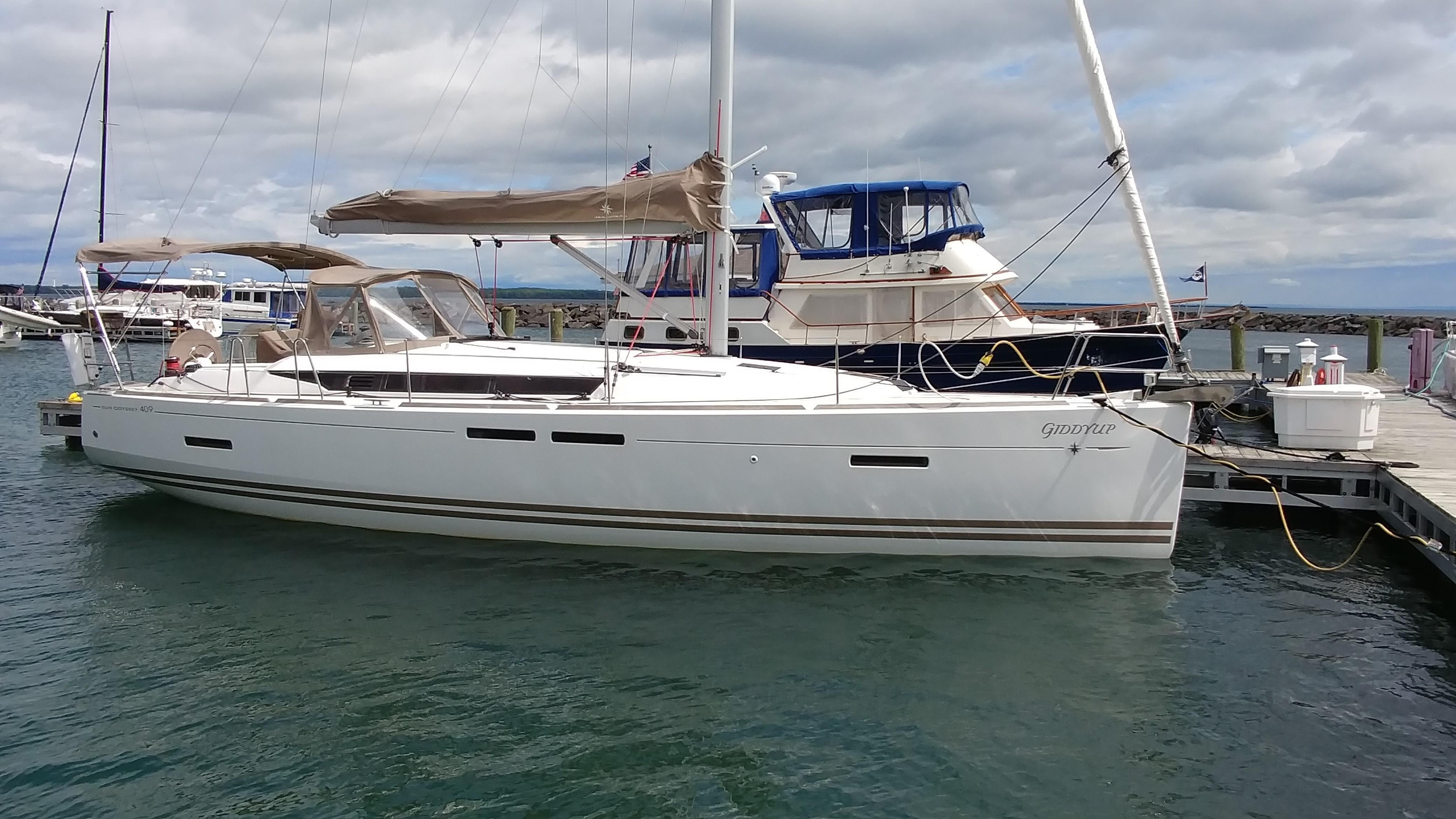 40 Jeanneau Sun Odyssey Giddyup 2011 Bayfield / Lake Superior | Denison  Yacht Sales
