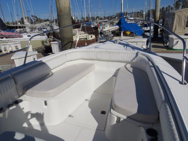 Bostom Whaler seat