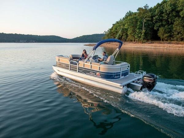 Sun Tracker Pontoon Boats >> New 2019 Sun Tracker Party Barge 20 Dlx For Sale