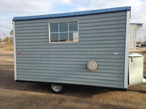 For sale used 2008 fish house 8x12 in st cloud minnesota for Used fish houses for sale mn