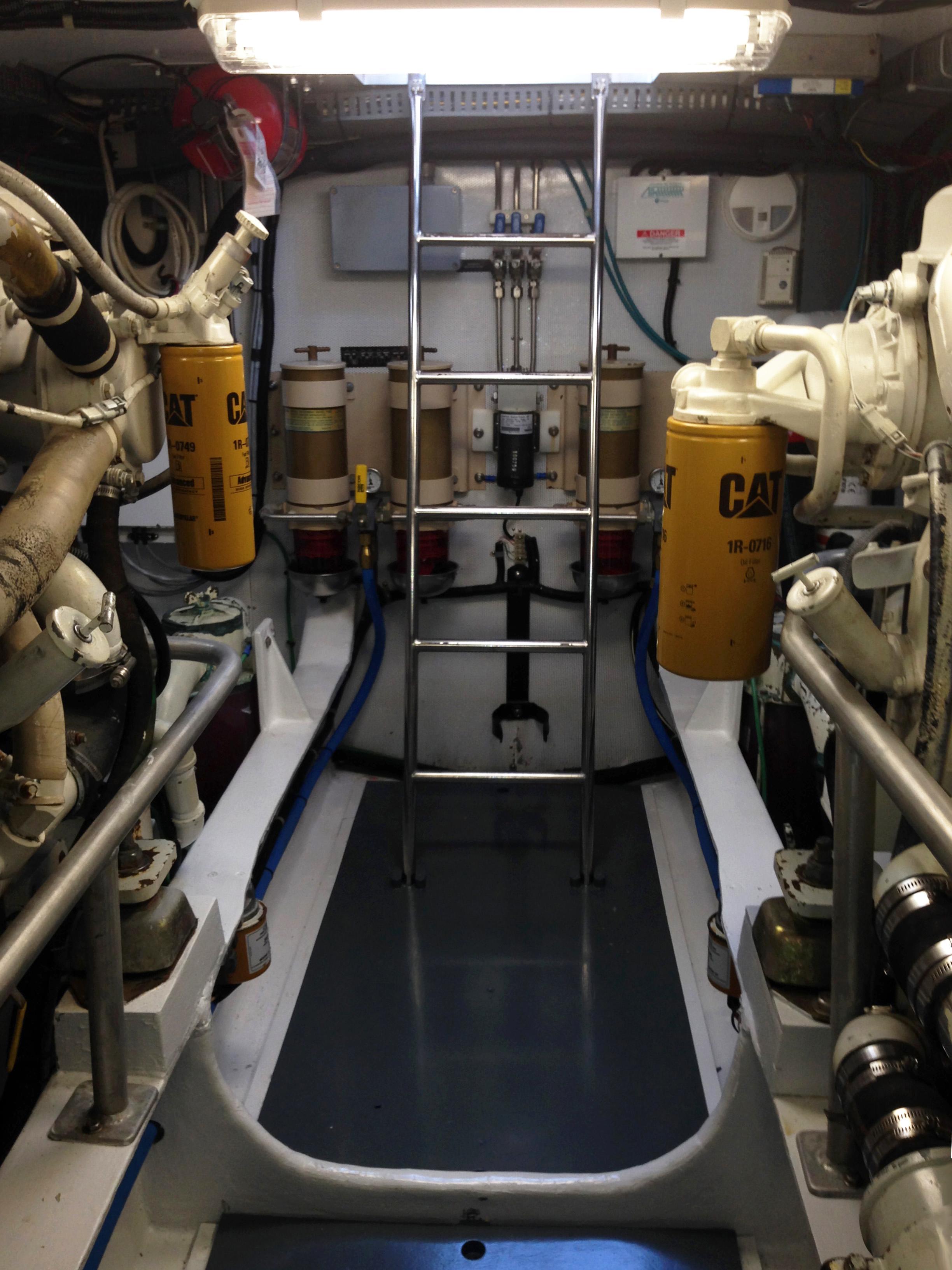 Engine Room Access, New Lighting