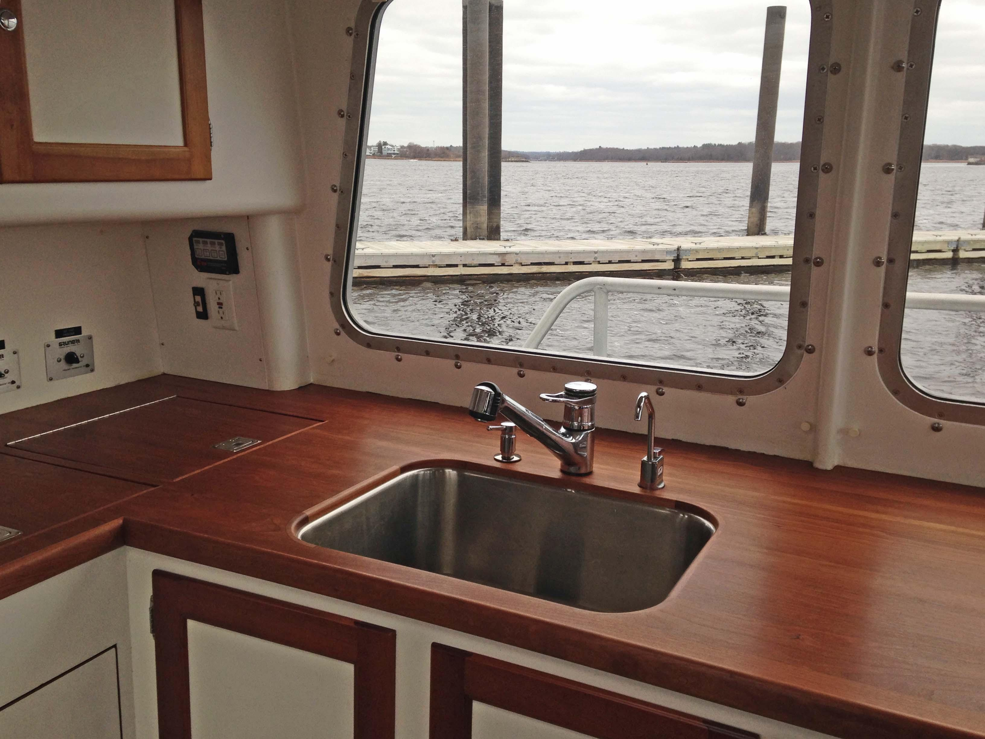Galley Counter and Sink