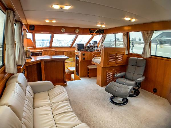 Picture Of:  50' Nova Galaxy 50 Cockpit 1989Yacht For Sale | 3 of 36