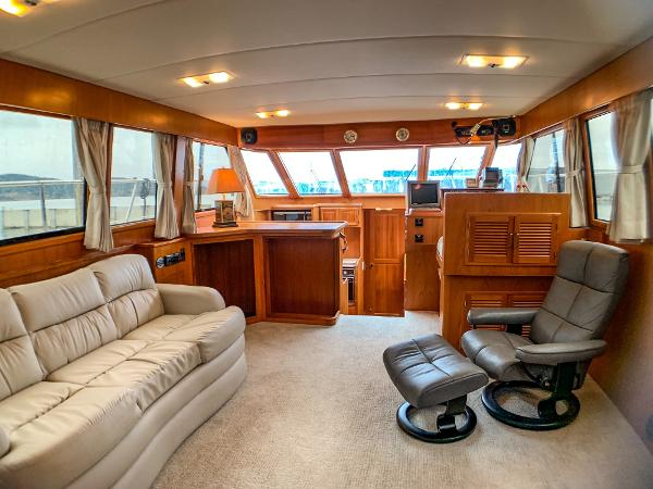 Picture Of:  50' Nova Galaxy 50 Cockpit 1989Yacht For Sale | 2 of 36