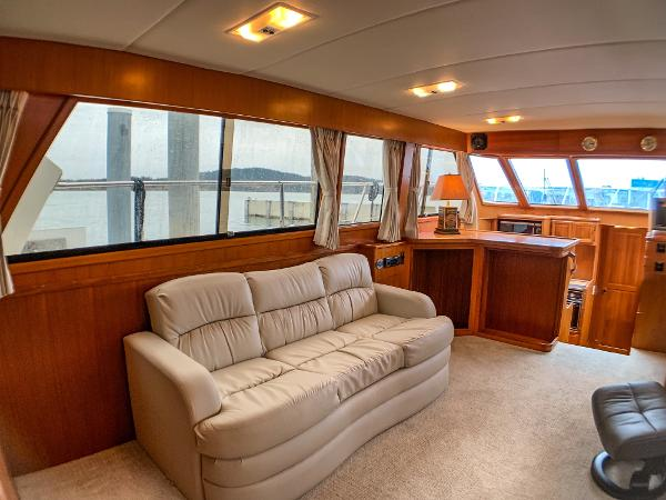 Picture Of:  50' Nova Galaxy 50 Cockpit 1989Yacht For Sale | 4 of 36