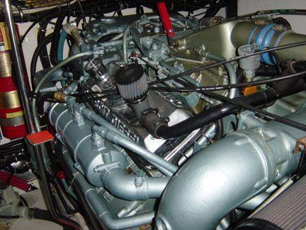 Starboard Detriot 6V92TA 550 HP