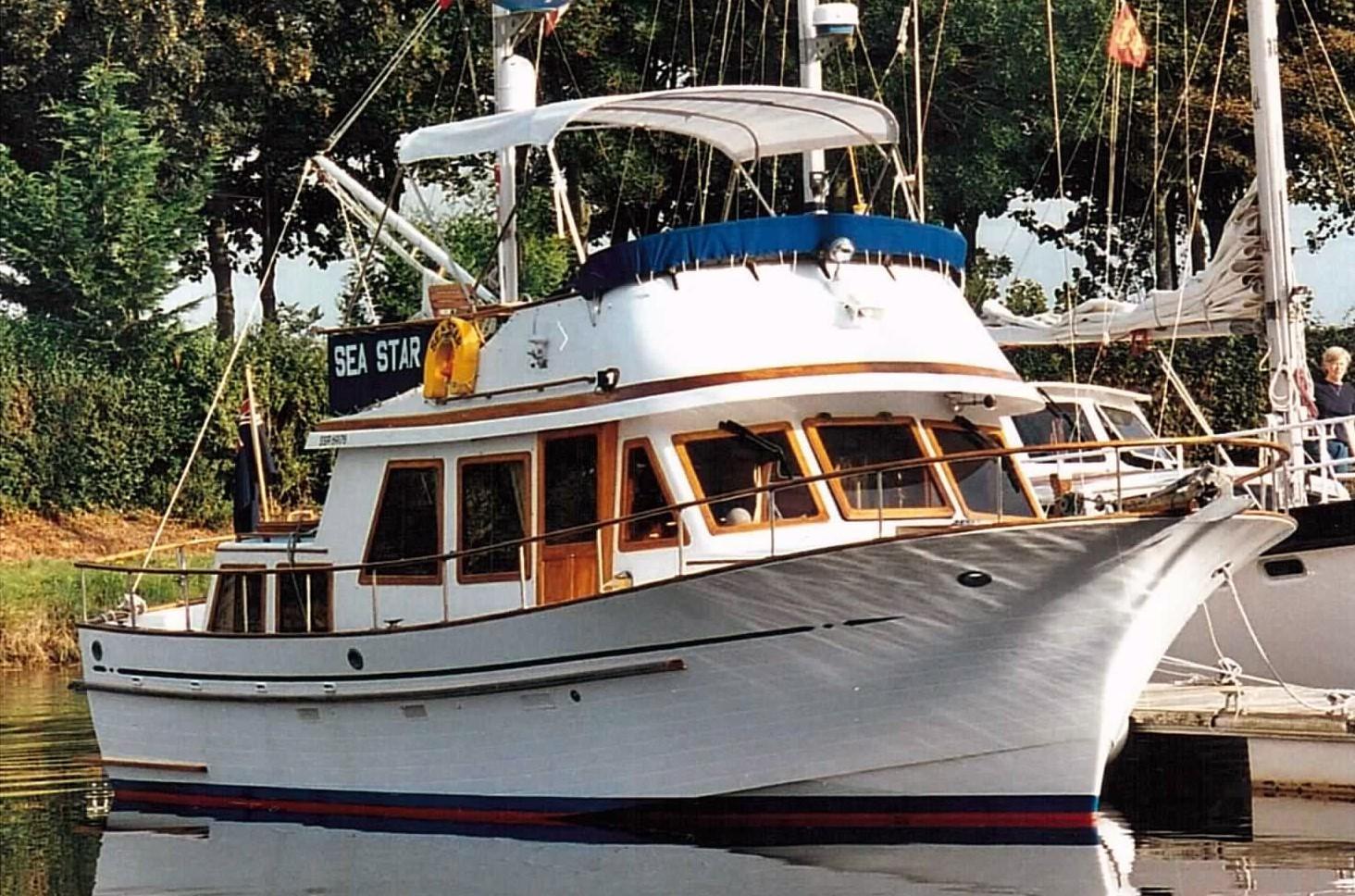 Hershine 37 trawler