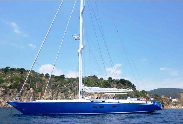 Brooke Yachts 100' Ron Holland Custom Sloop
