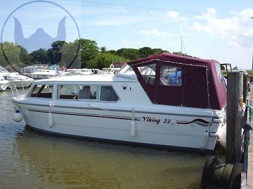 Viking 23 Canal Boat
