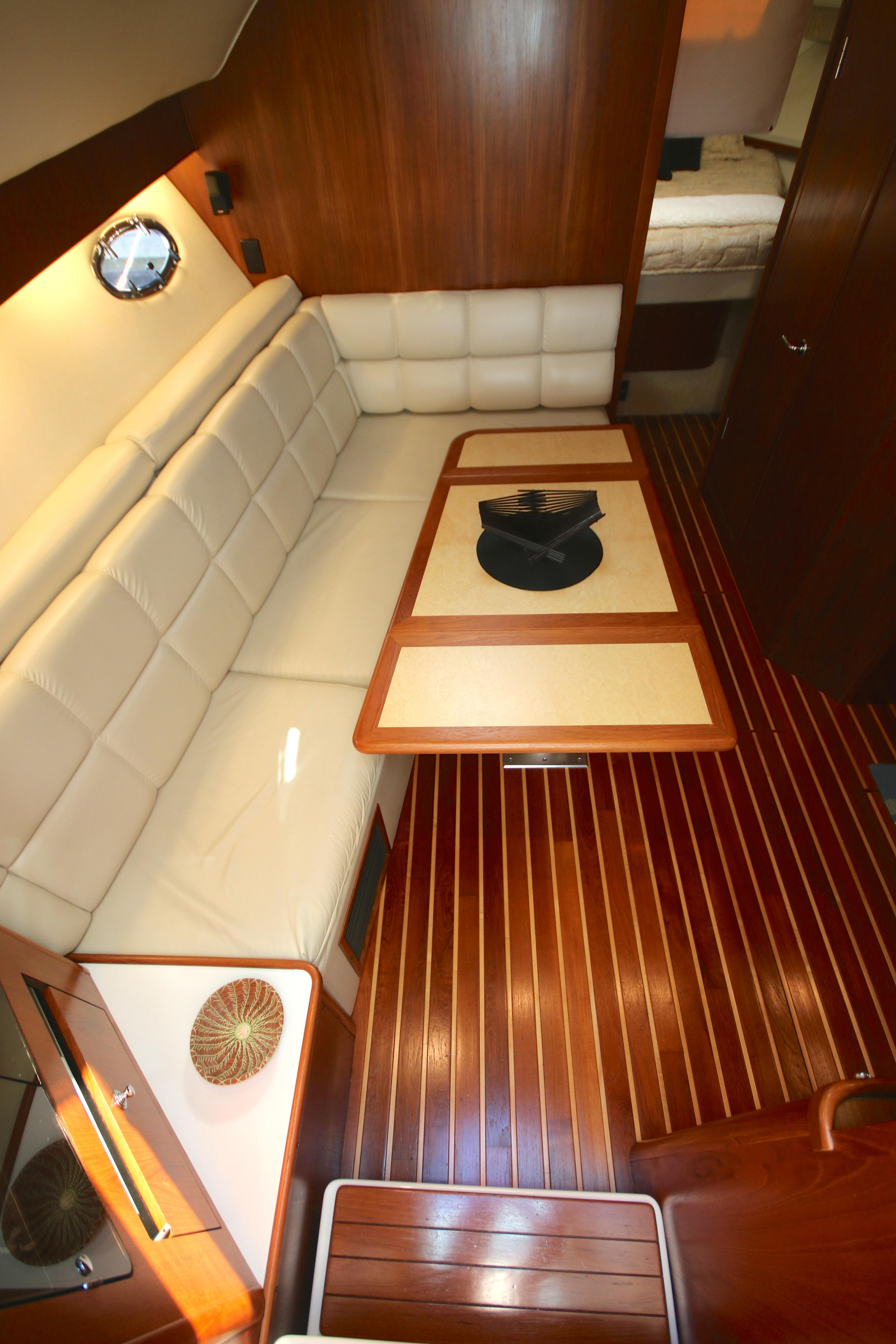 The Galley Is Located To Starboard, And Has Everything A Chef Could Need.