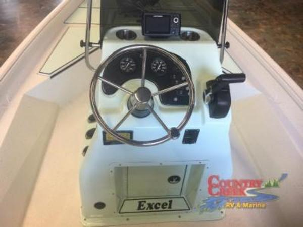 2018 Excel boat for sale, model of the boat is 203 Bay Pro & Image # 11 of 18