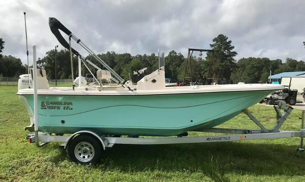 2020 Carolina Skiff boat for sale, model of the boat is 17 LS & Image # 6 of 11