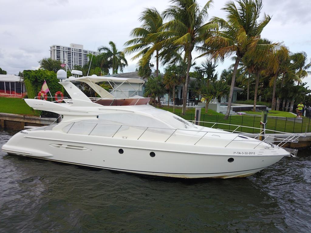 50' Azimut Flybridge Motor Yacht SERENDIPITY