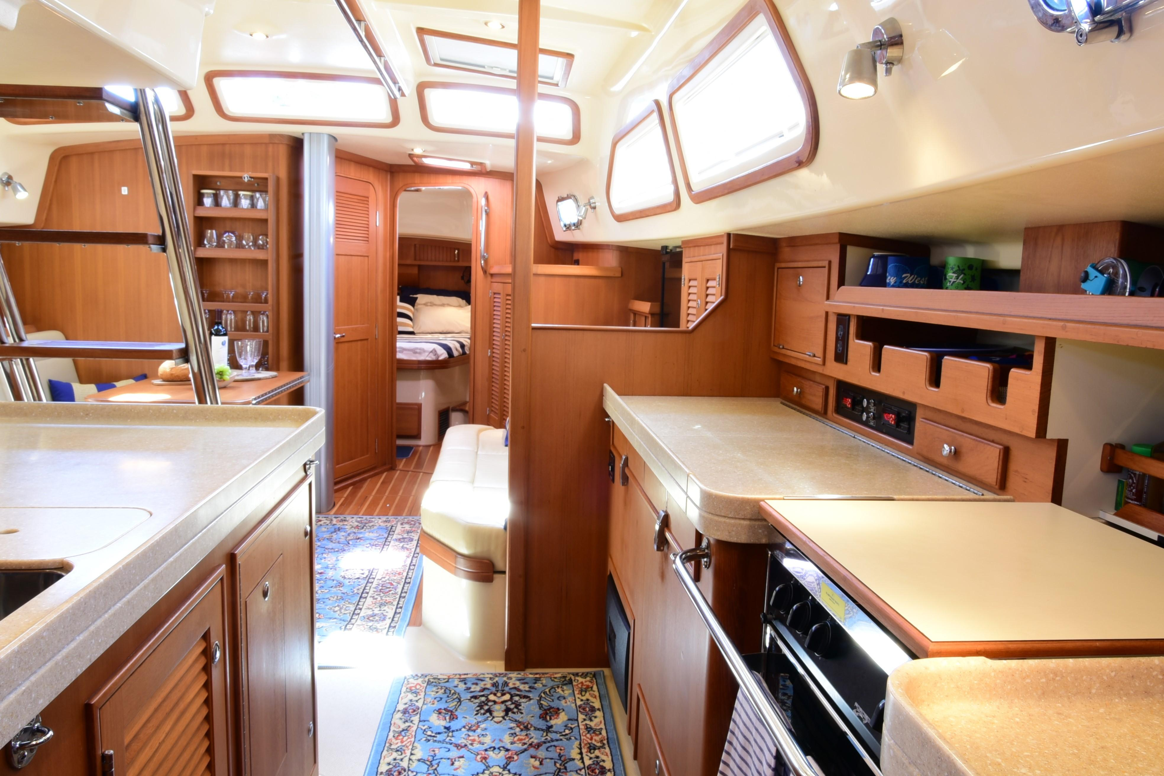 GALLEY FROM AFT CABIN