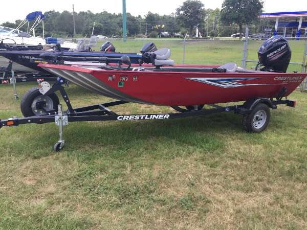 2016 CRESTLINER 1657 OUTLOOK STICK STEER for sale