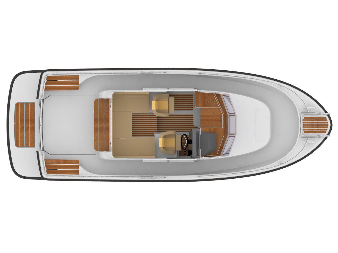 Sargo 25 deck plan