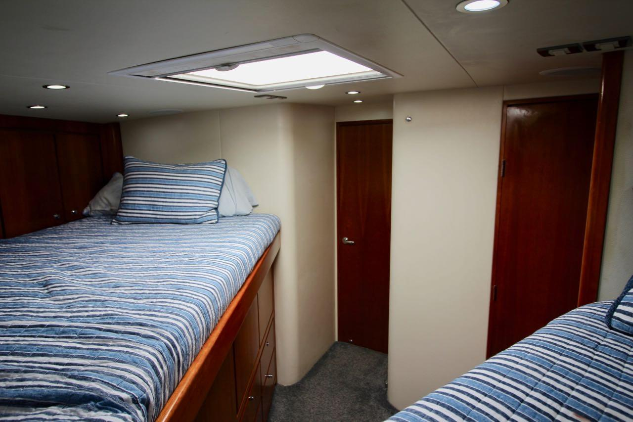 Starboard Stateroom Looking Aft