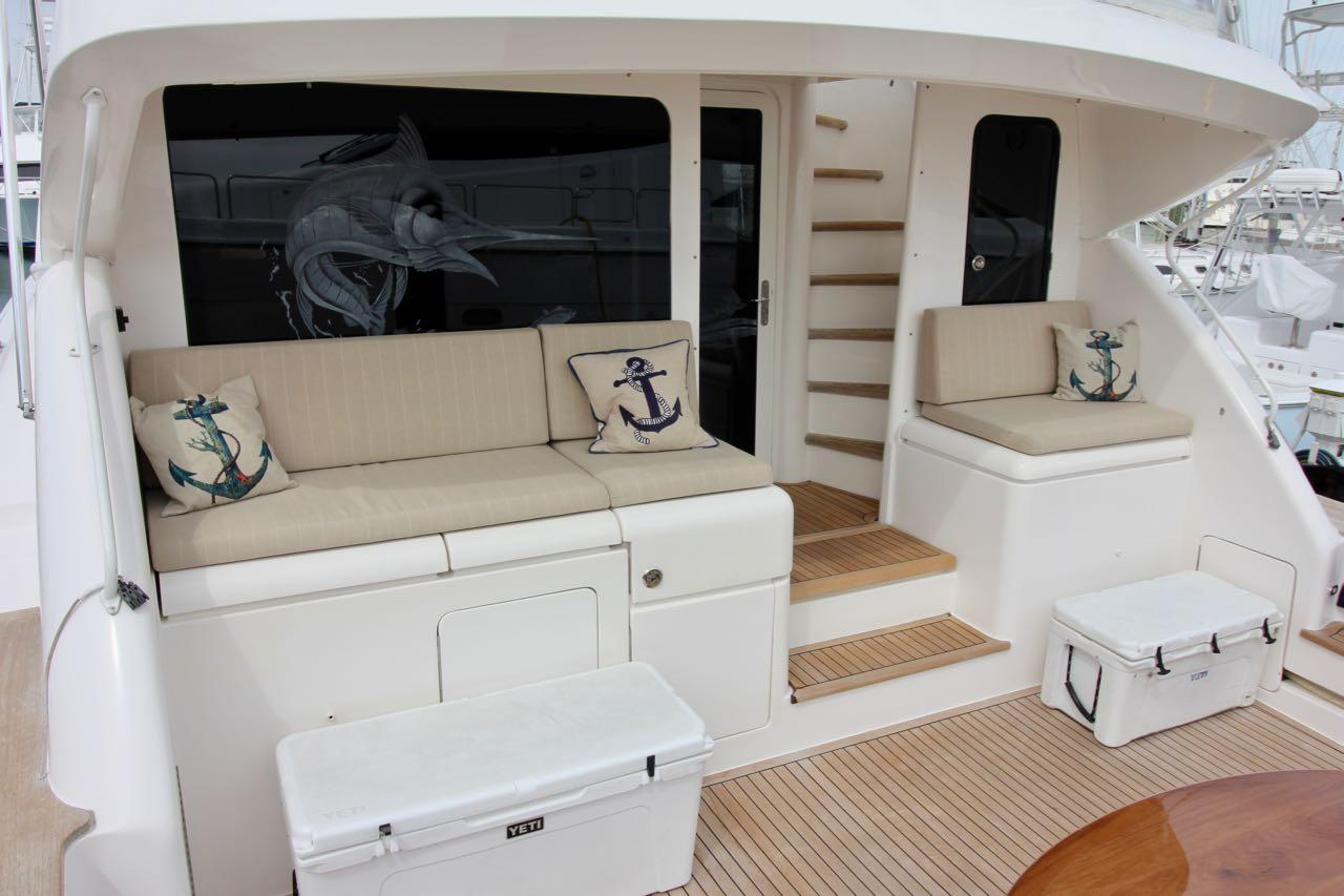Aft Deck From Port Stern