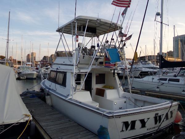 Black Watch 30 Flybridge Sell New England
