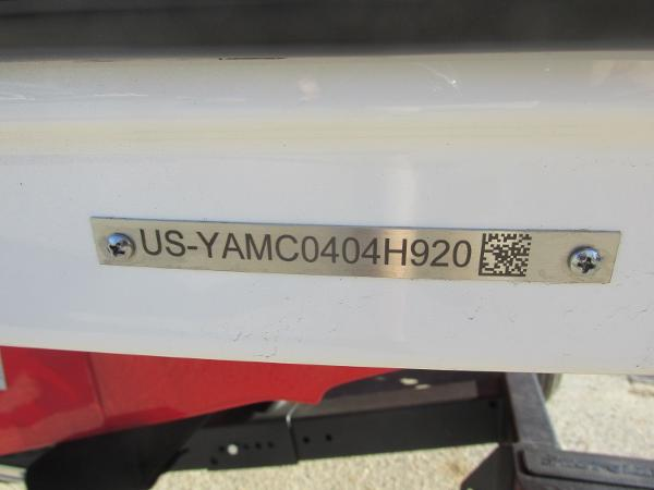 2020 Yamaha boat for sale, model of the boat is AR195 & Image # 31 of 31