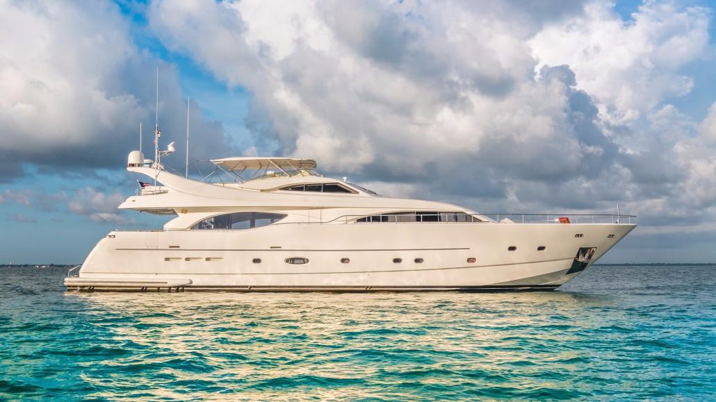 94' Ferretti Custom Line Motor Yacht PARADISE