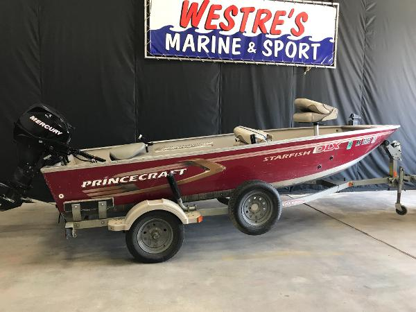 2006 PRINCECRAFT 16 TILLER for sale