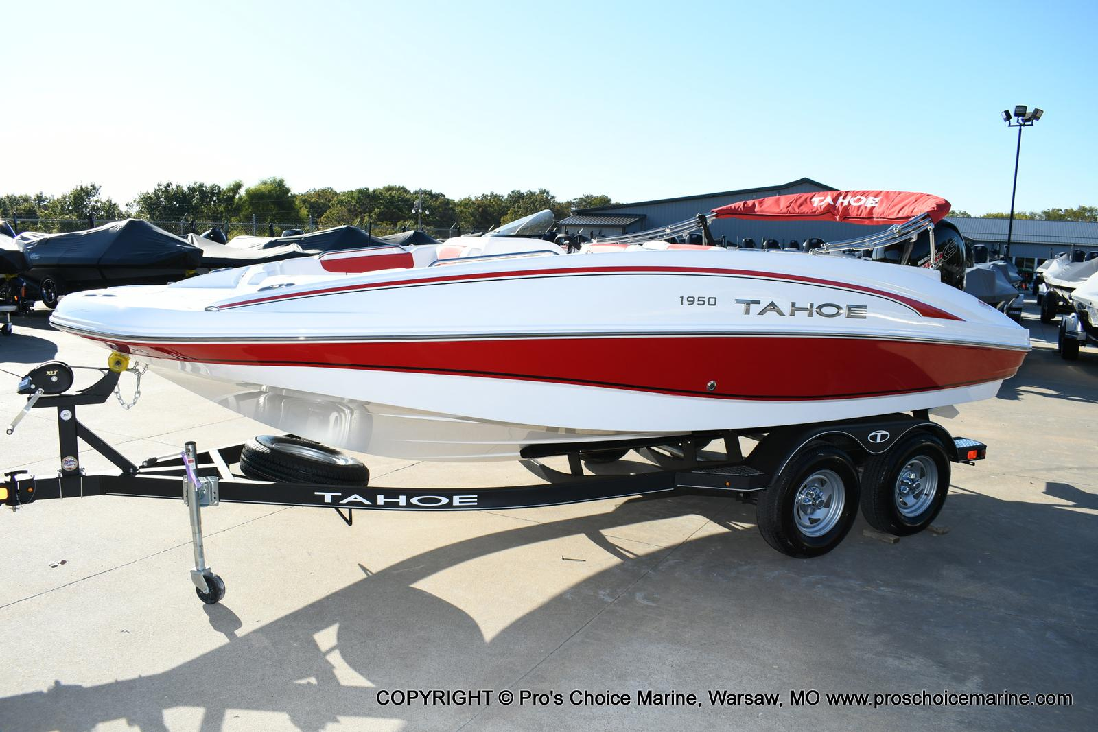 2020 Tahoe boat for sale, model of the boat is 1950 & Image # 2 of 50