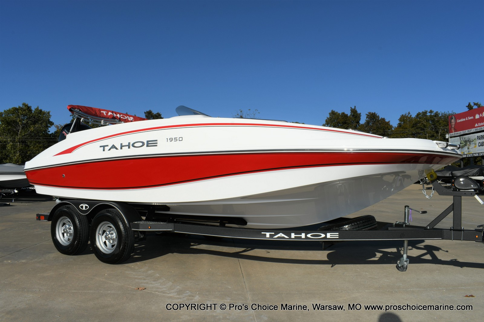 2020 Tahoe boat for sale, model of the boat is 1950 & Image # 21 of 50