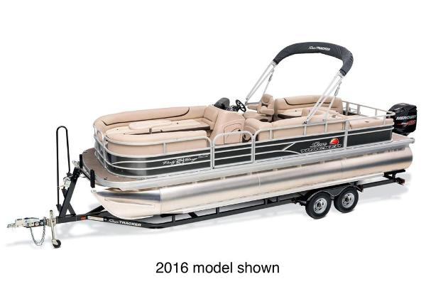 2017 SUN TRACKER PARTY BARGE 24 XP3 for sale