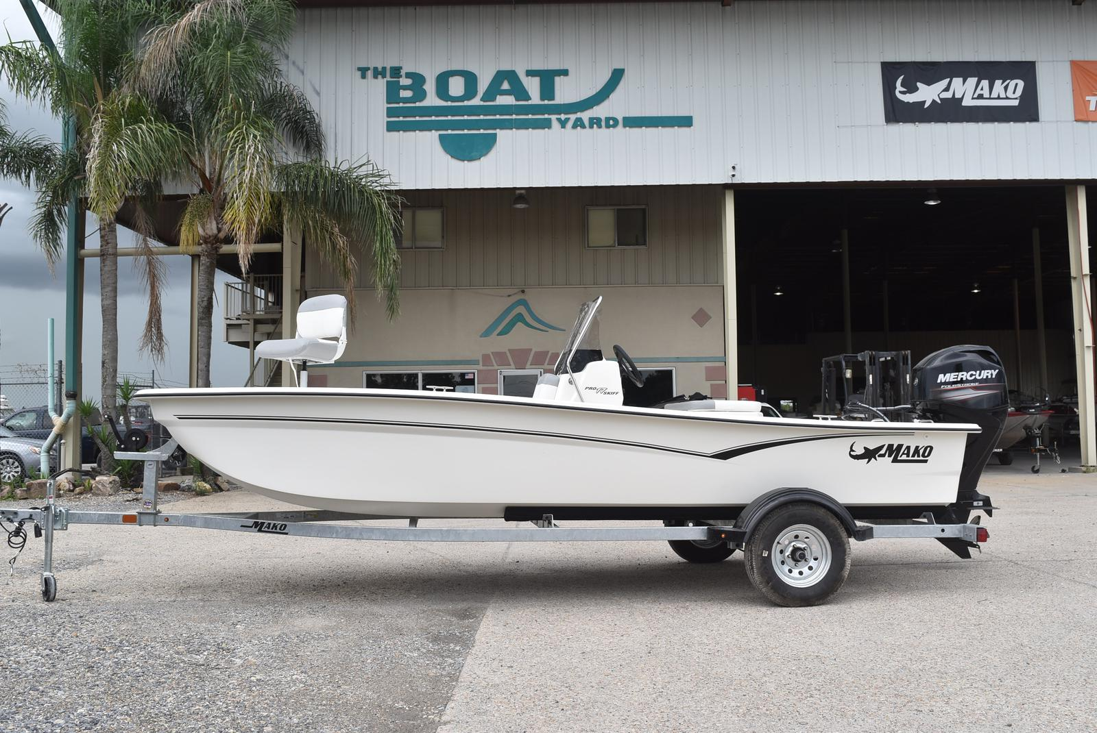 2020 Mako boat for sale, model of the boat is Pro Skiff 17, 75 ELPT & Image # 3 of 702