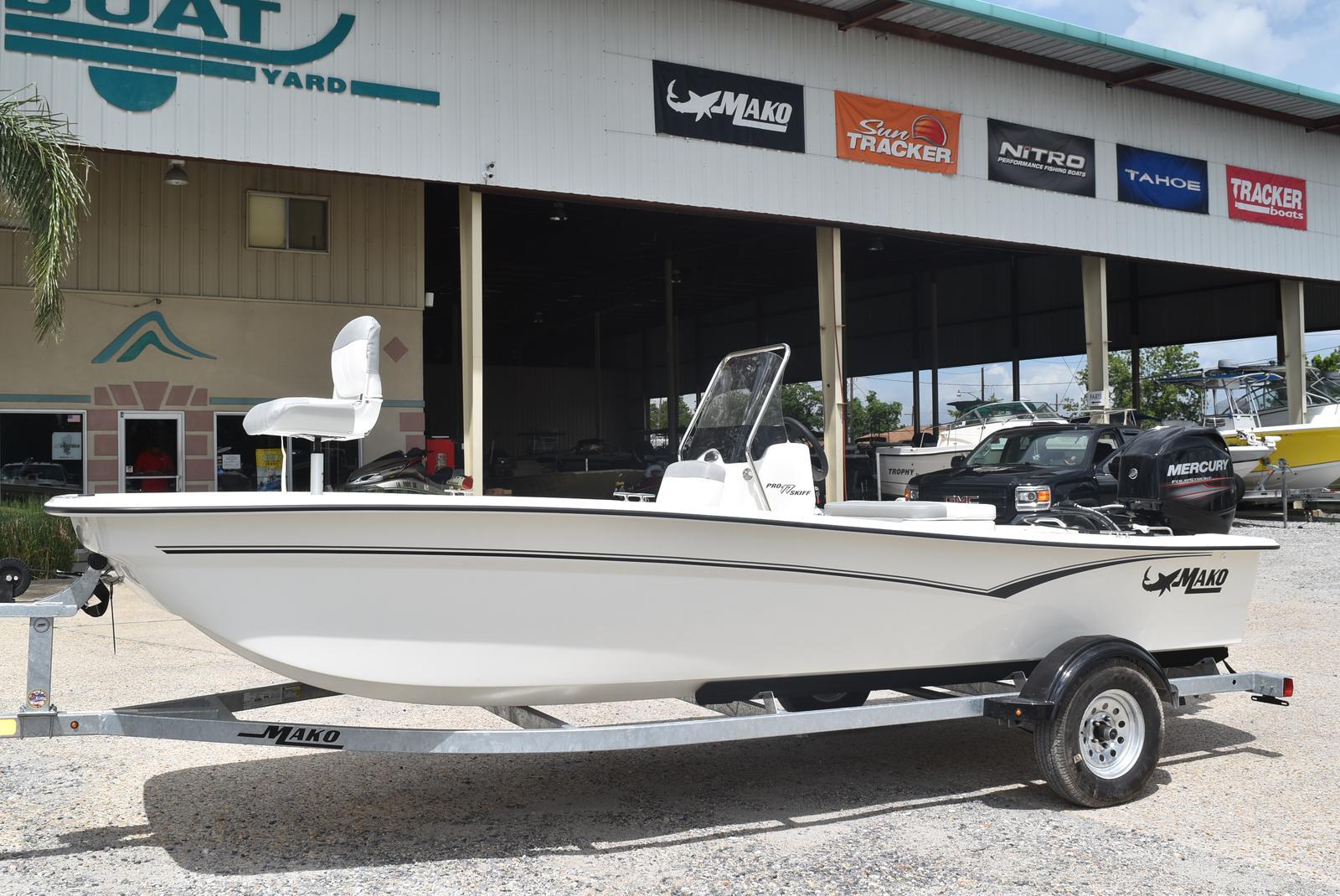 2020 Mako boat for sale, model of the boat is Pro Skiff 17, 75 ELPT & Image # 2 of 9