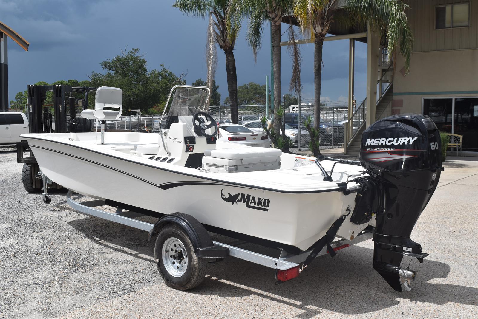2020 Mako boat for sale, model of the boat is Pro Skiff 17, 75 ELPT & Image # 3 of 9