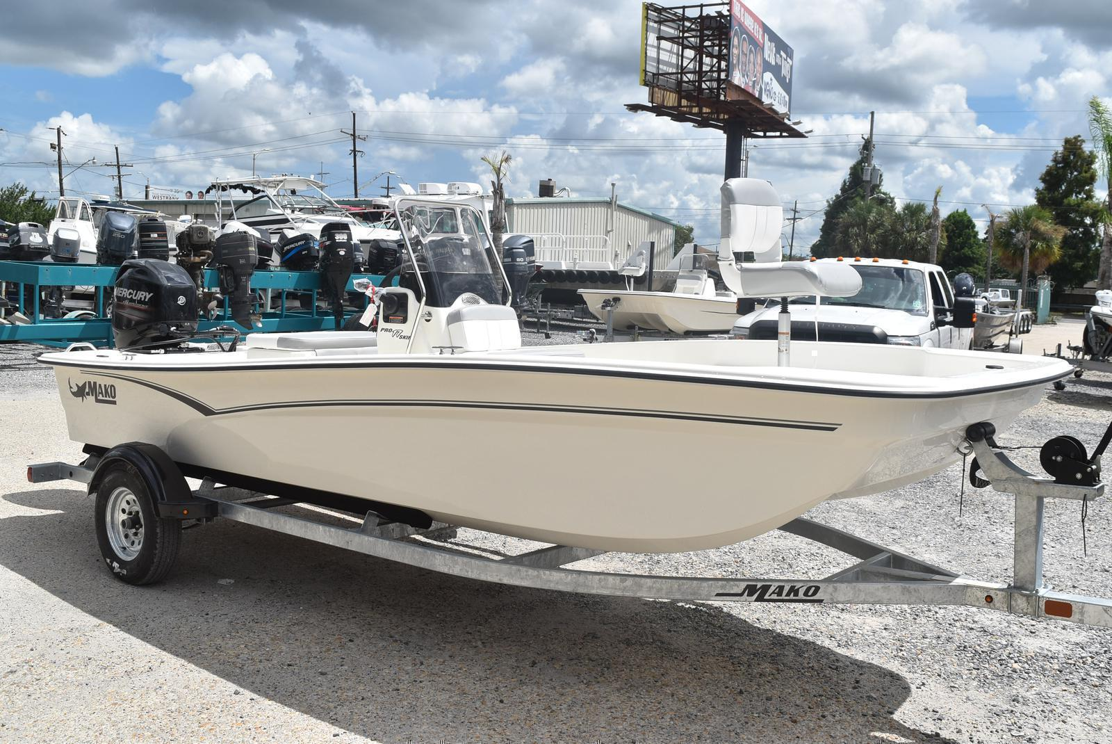 2020 Mako boat for sale, model of the boat is Pro Skiff 17, 75 ELPT & Image # 693 of 702