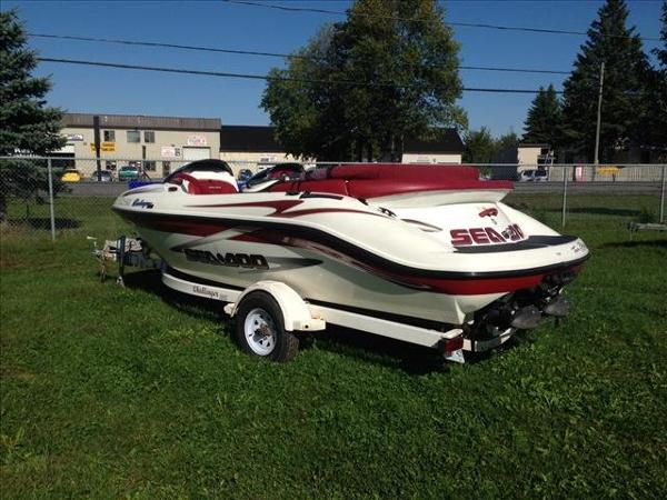 1999 Sea Doo PWC boat for sale, model of the boat is Challenger 1800 & Image # 3 of 8