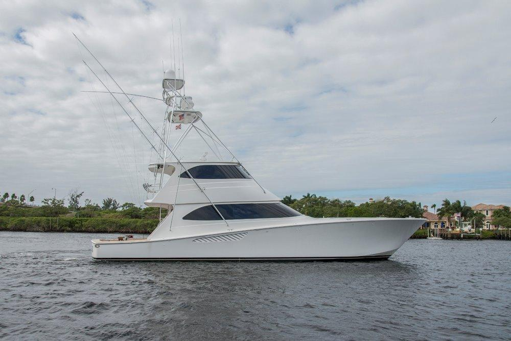 2012 Viking 70 Enclosed Bridge