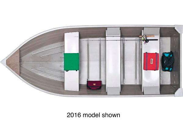 2017 Tracker Boats boat for sale, model of the boat is Guide V-14 Deep V & Image # 2 of 2