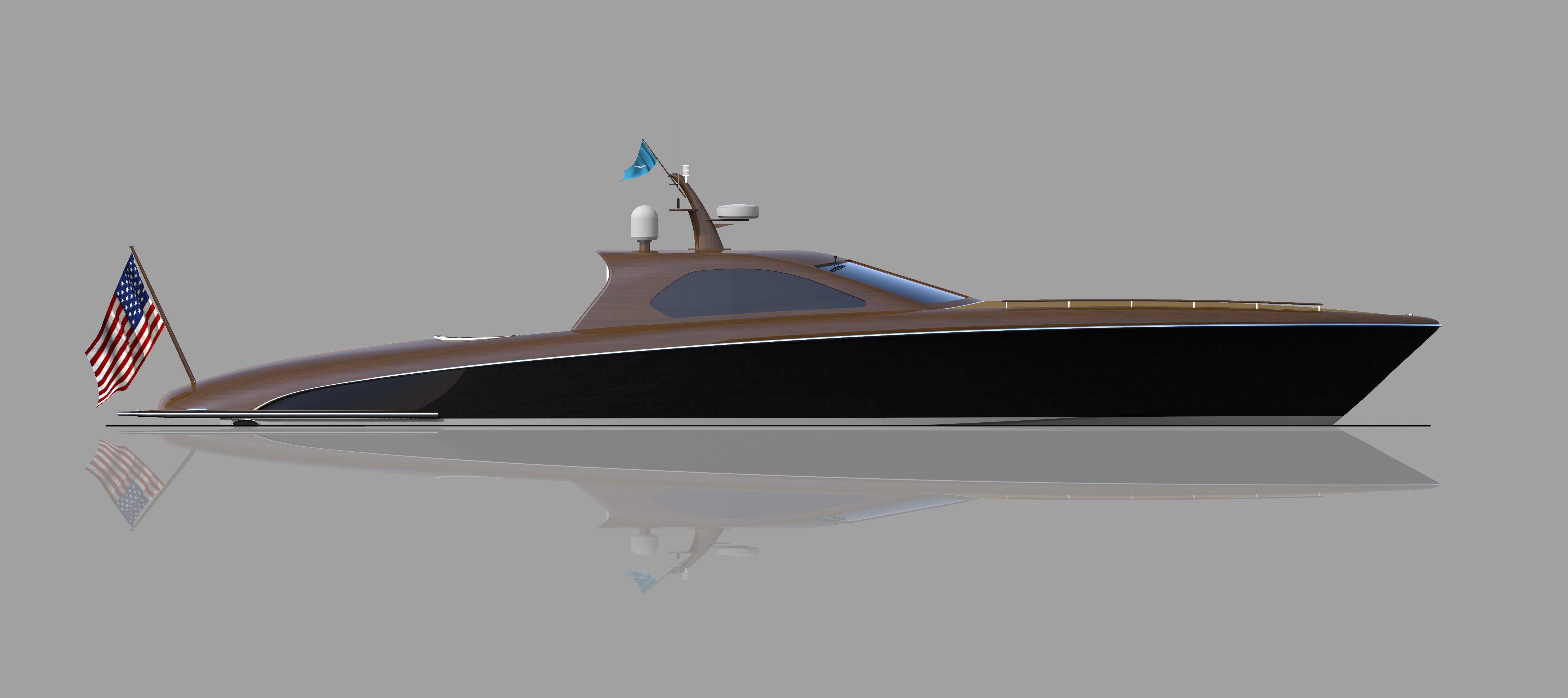 60' Sport Boat Profile