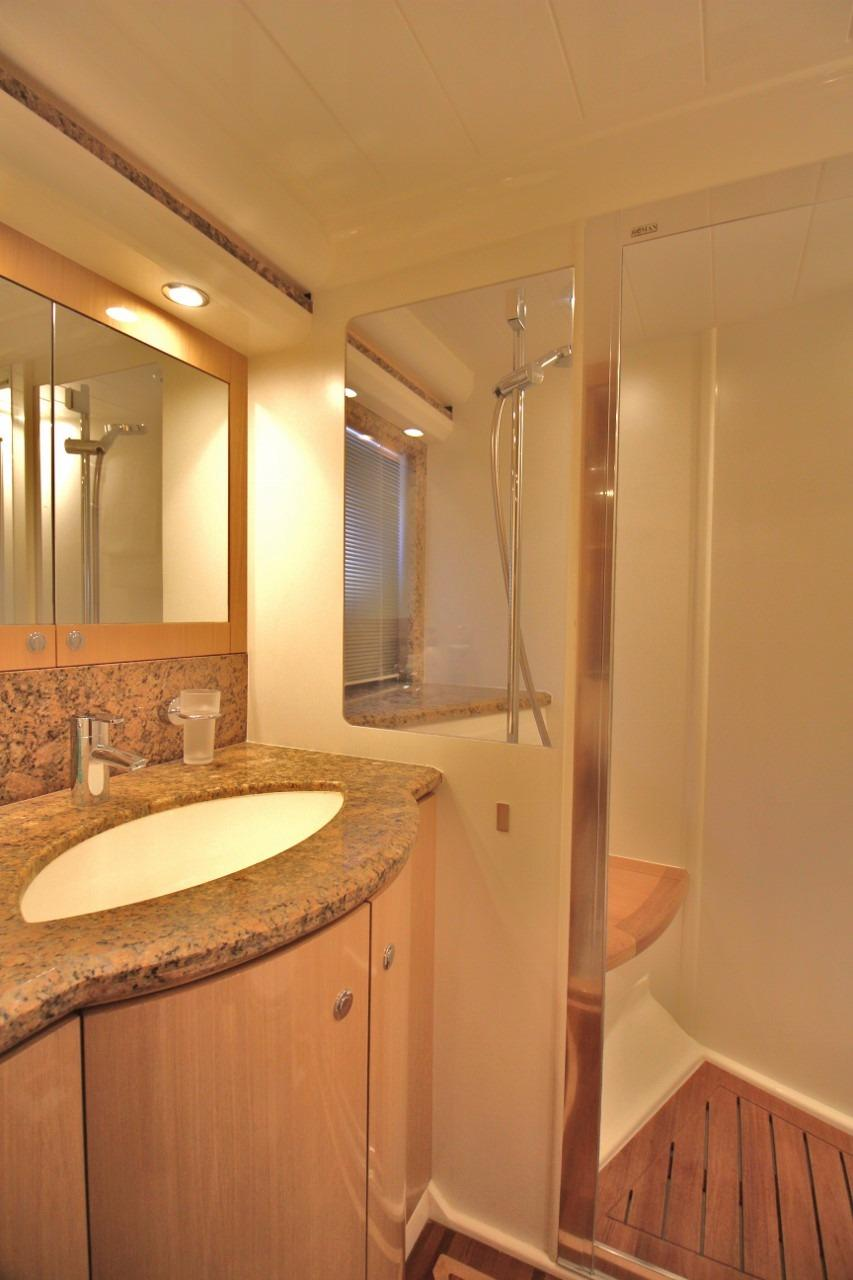 Princess 23M- Port Guest Cabin Bathroom