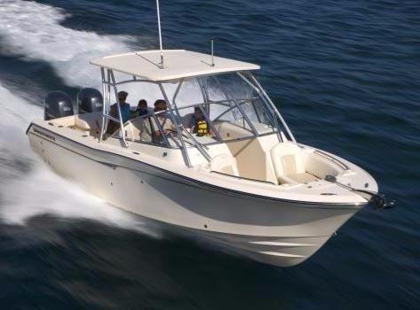 2008 grady white 275 tournament dual console boat for sale