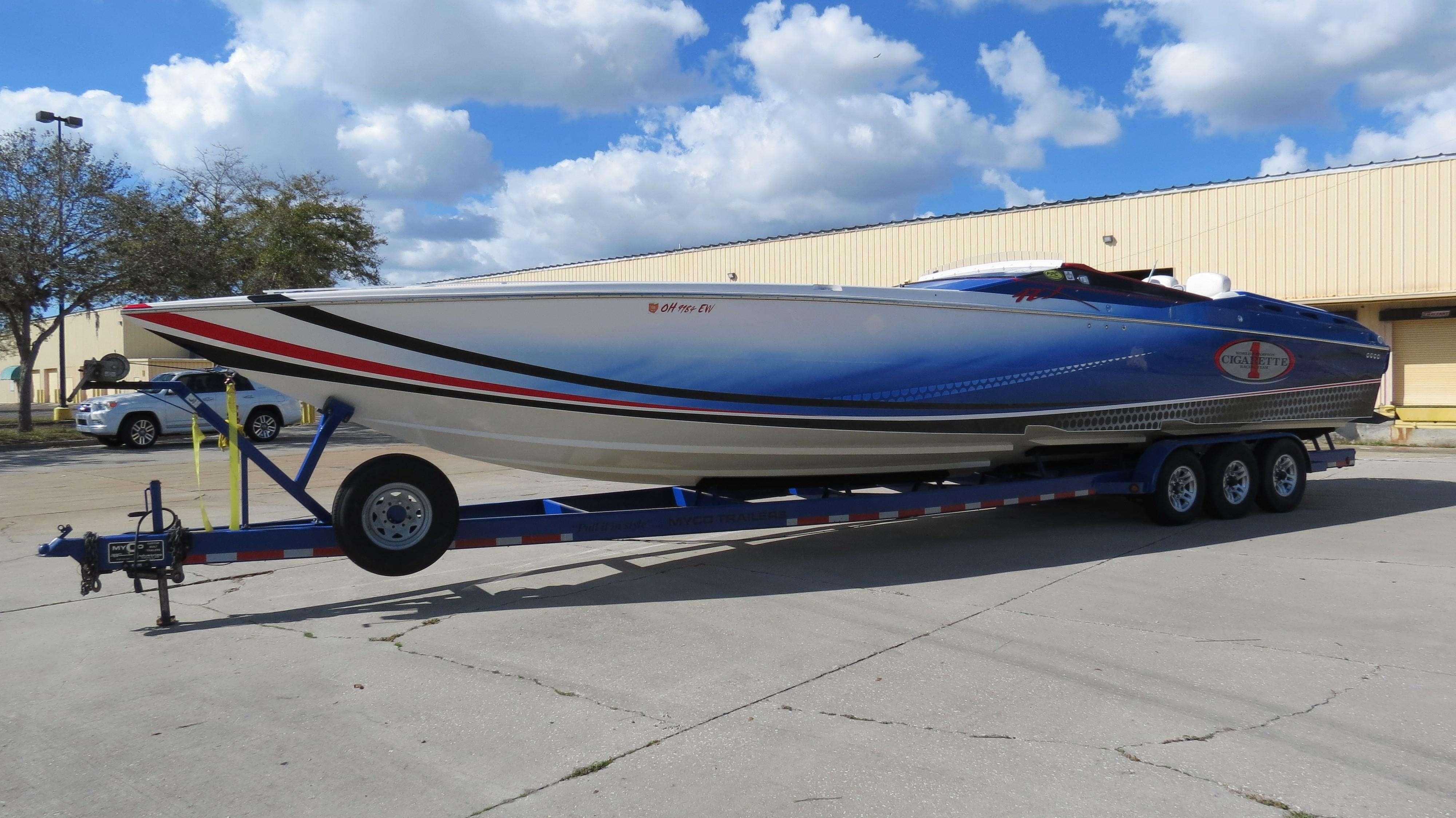 Used Cigarette Boats For Sale Suncoast Powerboat And Yacht