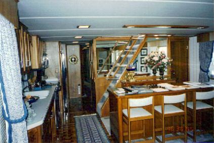 Galley/Dining Area