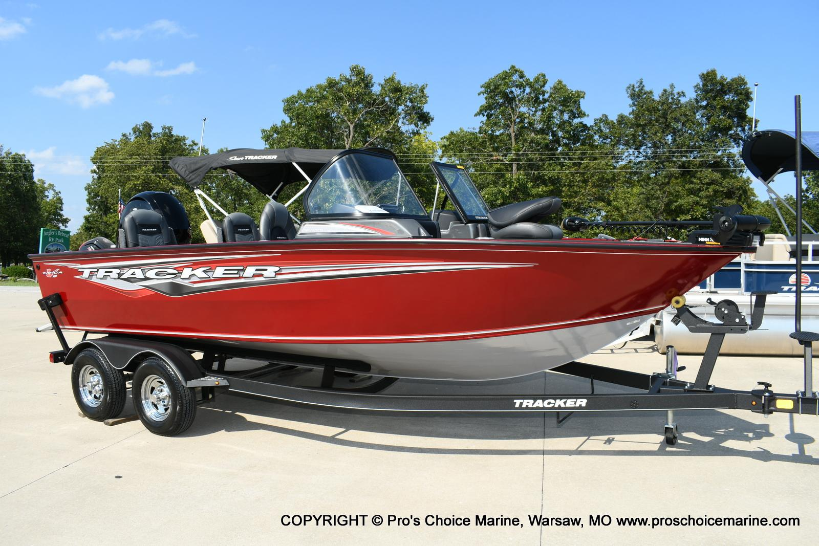 2020 Tracker Boats boat for sale, model of the boat is Targa V-18 Combo & Image # 46 of 50