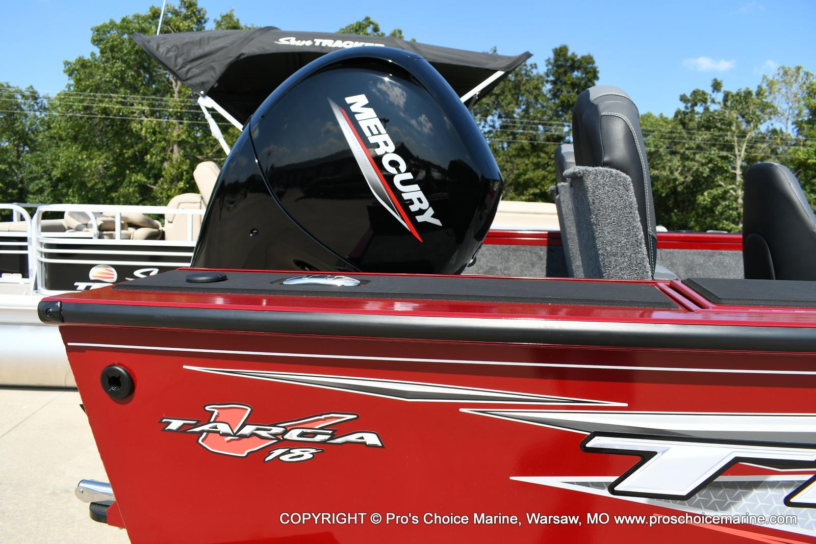 2020 Tracker Boats boat for sale, model of the boat is Targa V-18 Combo & Image # 48 of 50