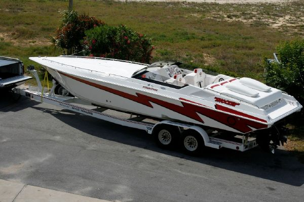 Fountain 32 Fever High Performance Boats. Listing Number: M-3656614