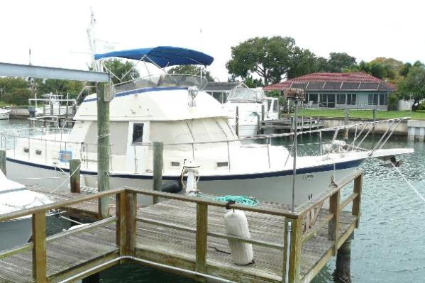 42' Hatteras Long Range Cruiser