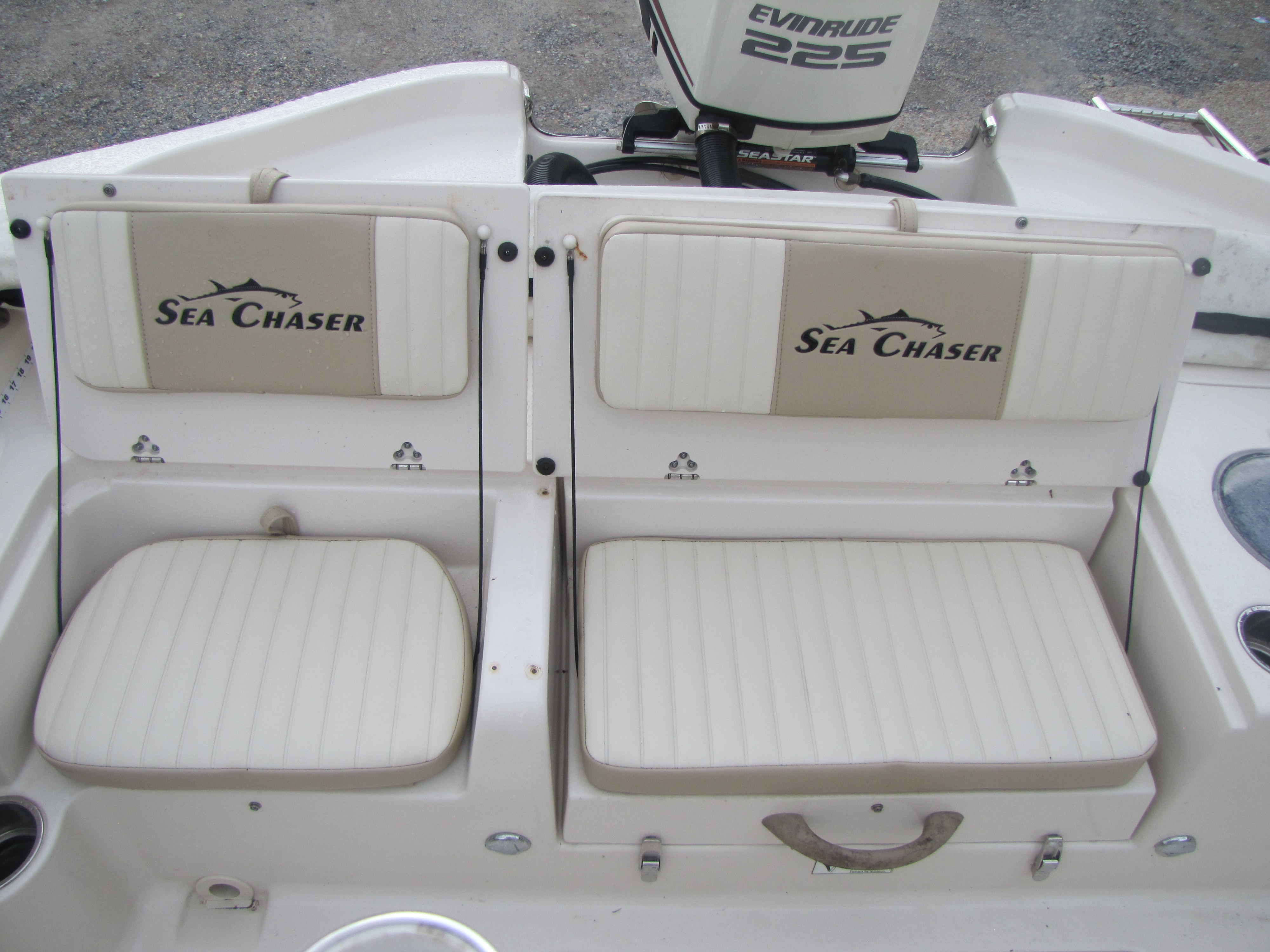 2018 Sea Chaser boat for sale, model of the boat is 23 LX & Image # 16 of 19