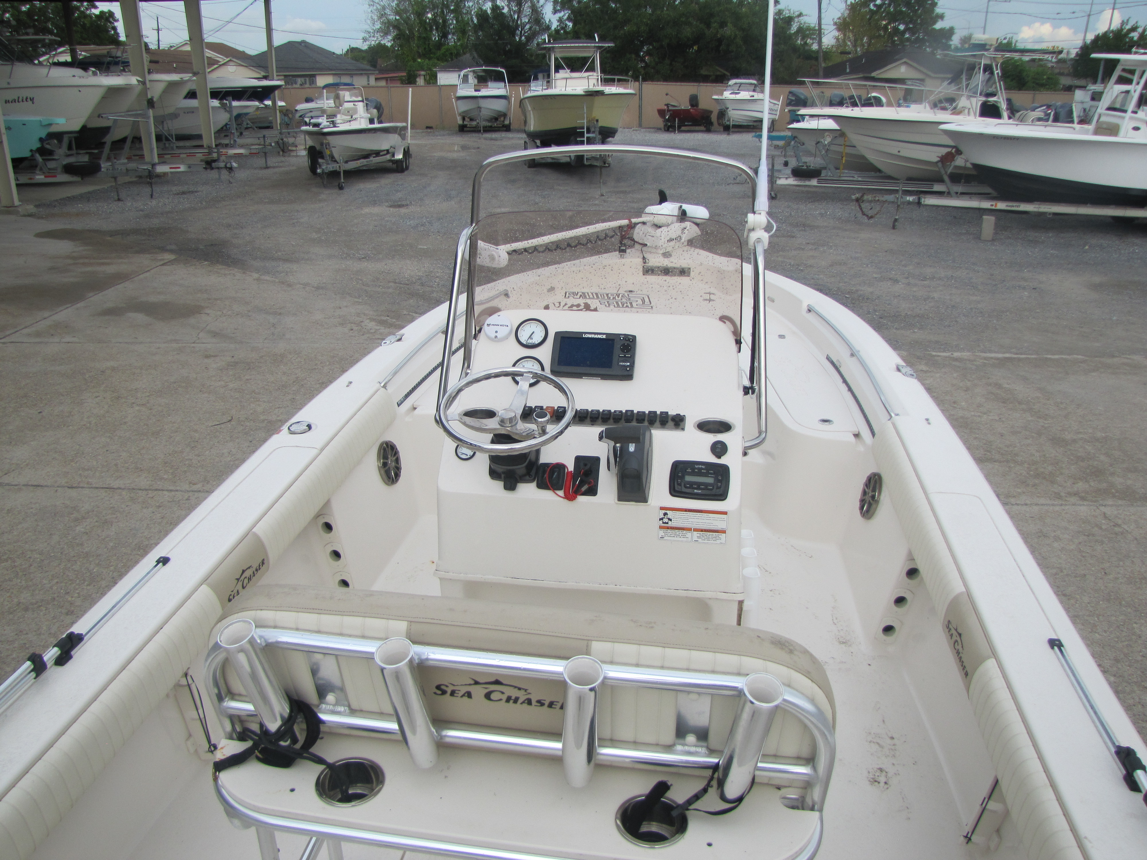 2018 Sea Chaser boat for sale, model of the boat is 23 LX & Image # 17 of 19