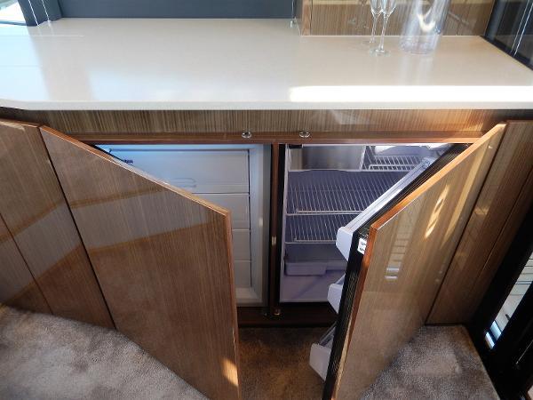 Sealine C530 fridge & freezer
